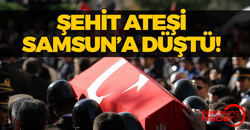 Acı Haber Samsun'a Şehit Ateşi Düştü!