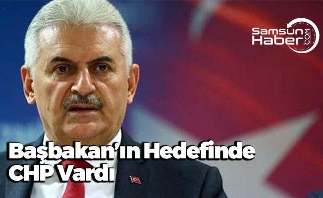Başbakan'ın Hedefinde CHP Vardı
