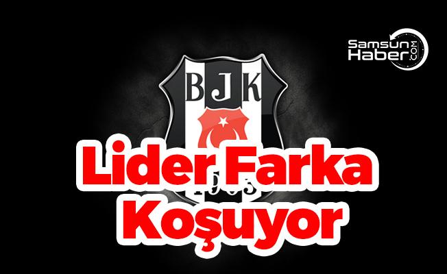 Beşiktaş Farka Koşuyor