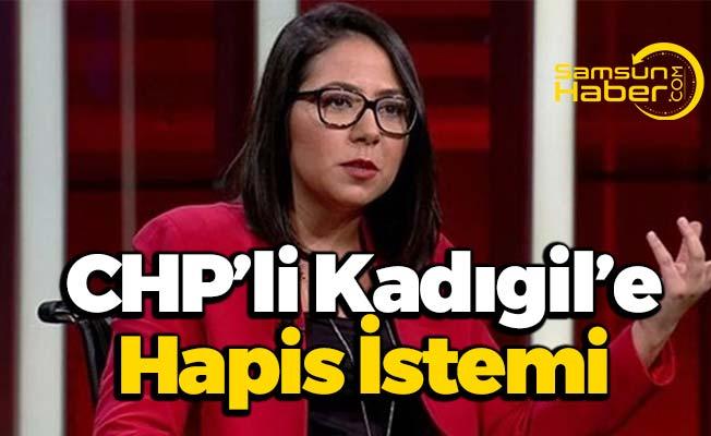 CHP Parti Meclisi Üyesi Kadıgil'e Hapis İstemi