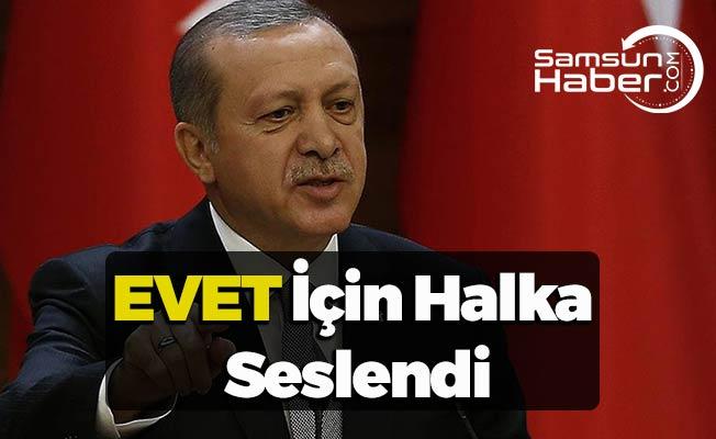 Erdoğan ''Hayırcılar sadece laf üretir''