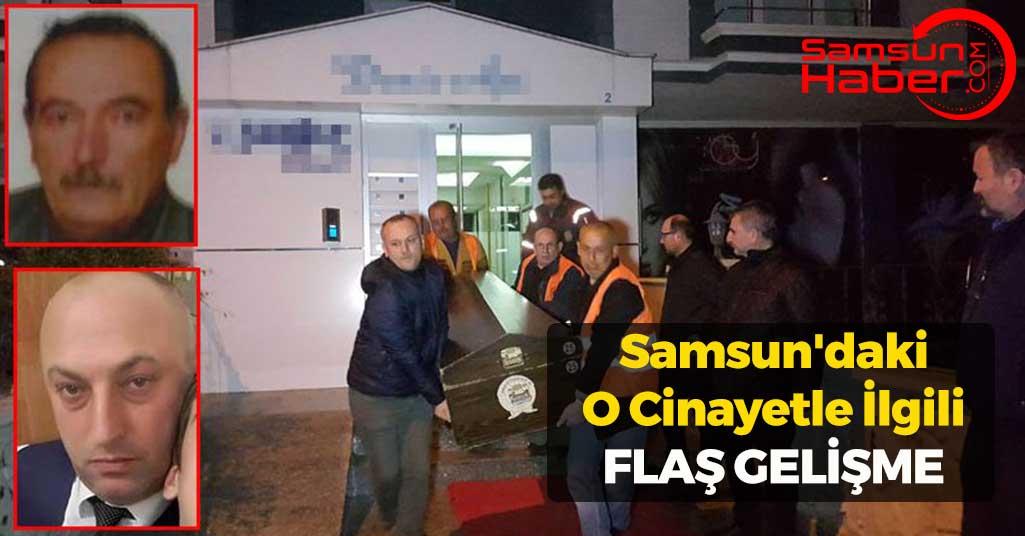 Samsun'daki O Cinayetle İlgili Flaş Gelişme