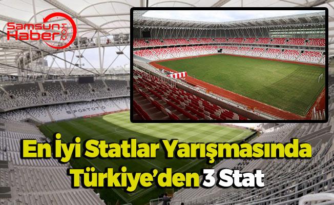 En İyi Statlar Yarışmasında 1. Türkiye'den Çıkabilir
