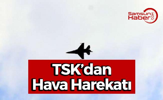 TSK'dan Hava Harekatı