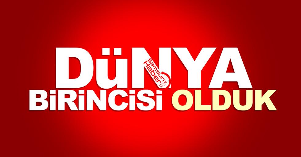 Samsun Anadolu Lisesi (SAL) dünya birincisi oldu