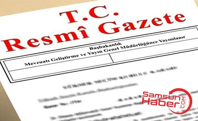 Atama kararları Resmi Gazetede yayınlandı