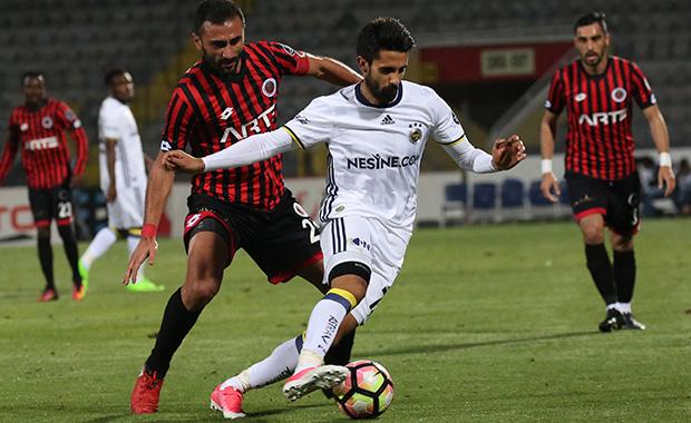 Fenerbahçe Gençlerbirliği'ni ikinci yarıda geçti