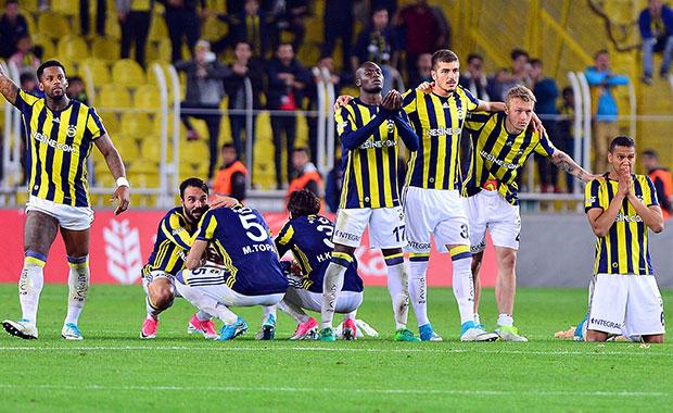 Fenerbahçe Türkiye Kupasına veda etti