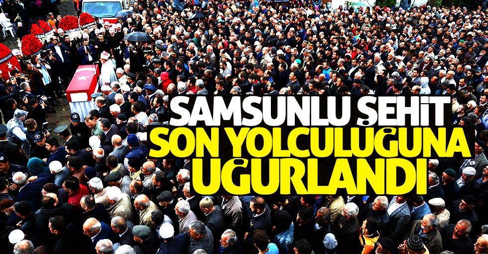 Şehit Mustafa Özdemir son yolculuğuna uğurlandı