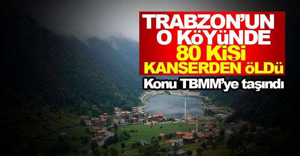 Trabzon'da yaşanan ölümler TBMM'ye taşındı
