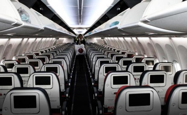 Yolcu uçakta panik yarattı: Olacaklardan ben sorumlu değilim