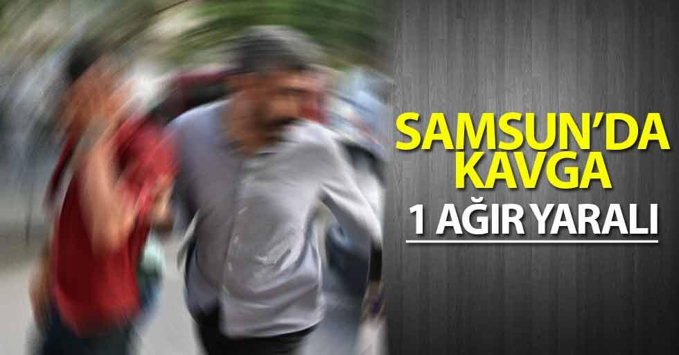 Samsun'da yanındaki kadına baktığı gerekçesiyle kavga çıktı