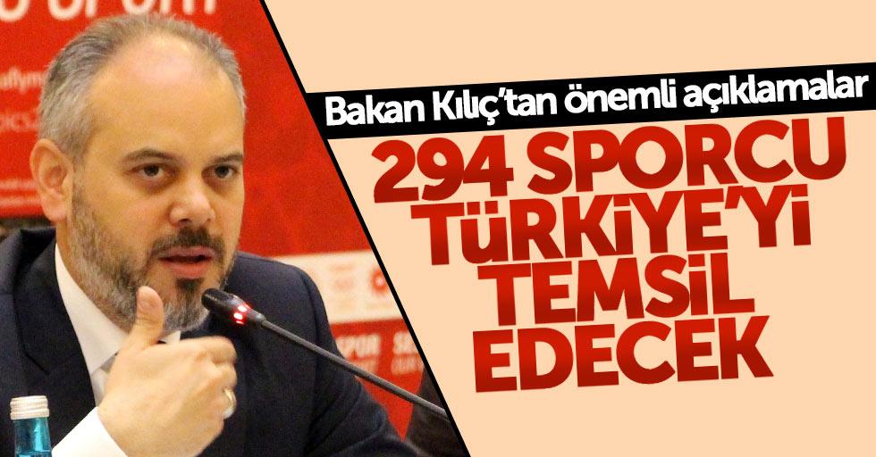 Bakan Kılıç'tan Samsun'daki olimpiyatla ilgili açıklama