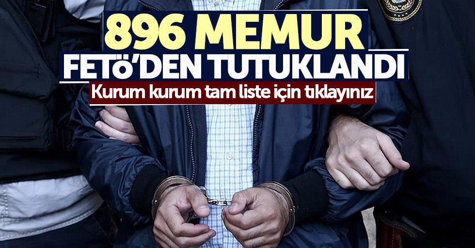 Samsun'da 896 memur FETÖ'den tutuklandı