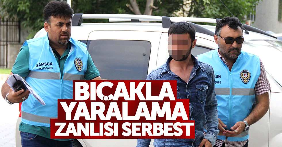 Samsun'da bıçakla yaralama zanlısı yakalandı