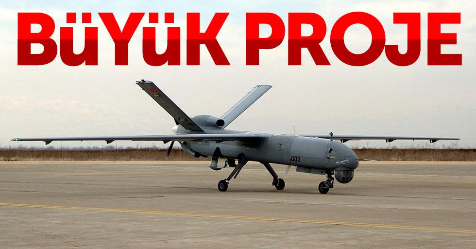 Samsun'da insansız hava aracı çalışmaları başladı