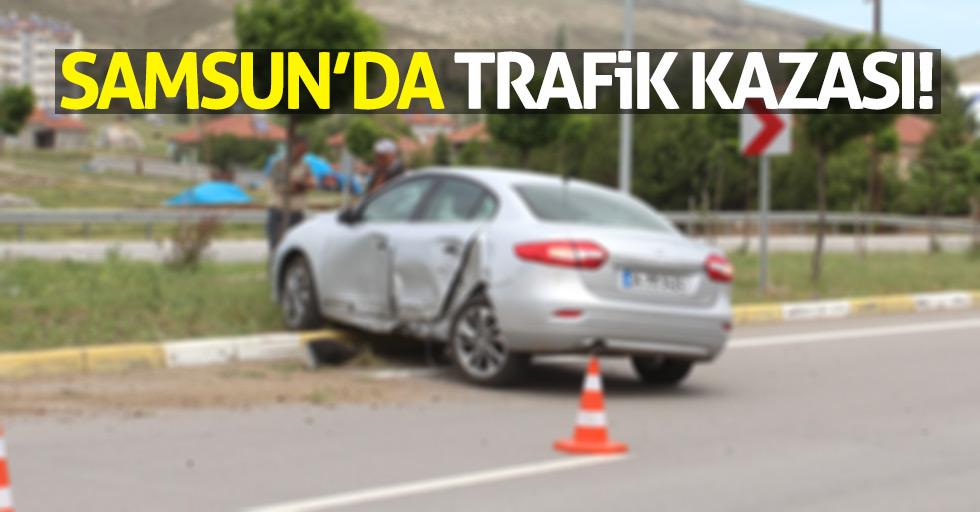Samsun'da trafik kazası!