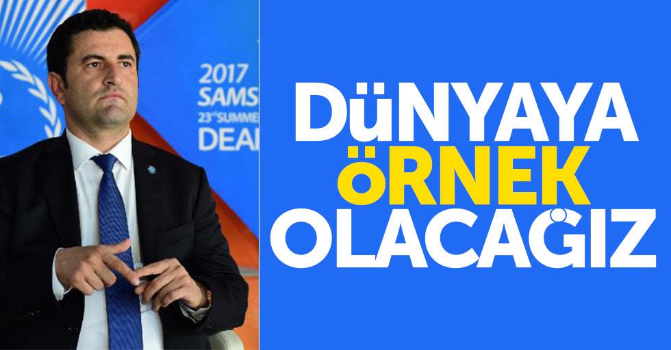 Türkiye'nin en büyük spor organizasyonu Samsun'da