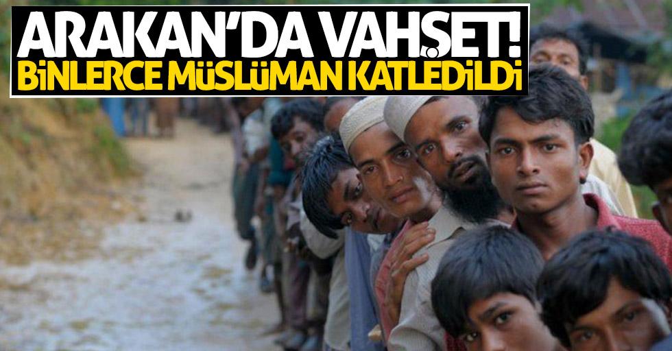 Arakan'da vahşet! Binlerce Müslüman katledildi