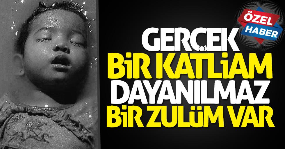 Arakan'daki katliama Samsun'dan tepki: Orada oluk oluk kan akıyor