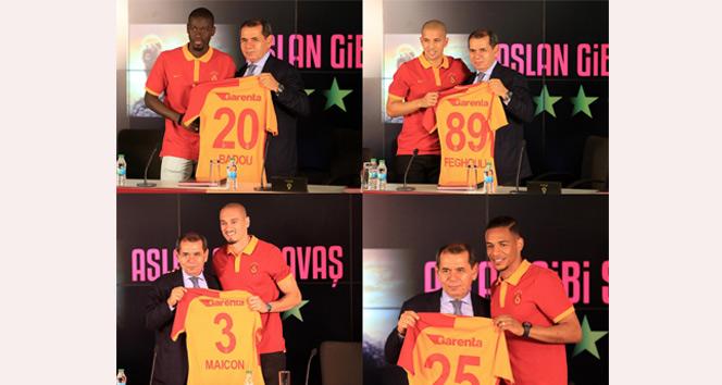 Galatasaray'dan imza günü