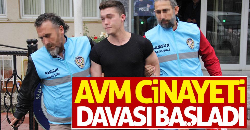 Samsun'da AVM cinayeti davası başladı