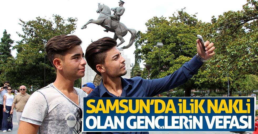 Samsun'da ilik nakli olan gençlerin vefası