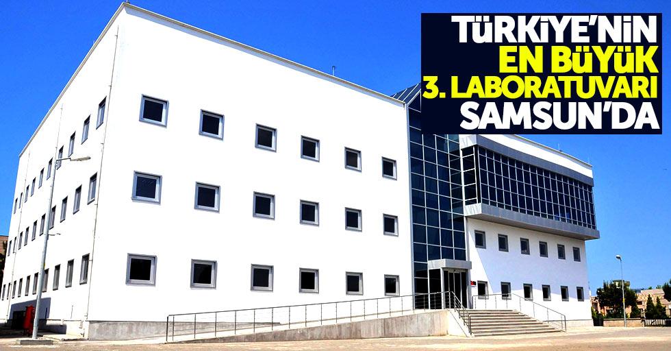 Türkiye'nin en büyük 3. laboratuvarı Samsun'a yapılıyor