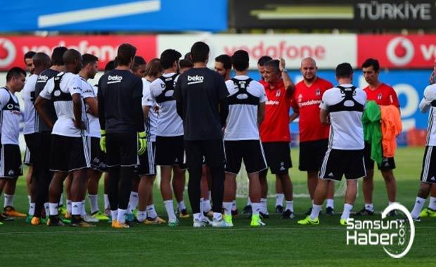 Beşiktaş, derbiye hazırlanıyor.