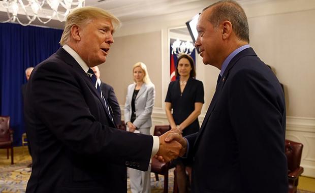 Erdoğan Trump görüşmesinin detayları belli oldu
