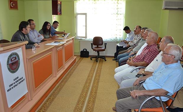 """""""LEADER Projesi"""" toplantısı Alaçam'da gerçekleştirildi"""