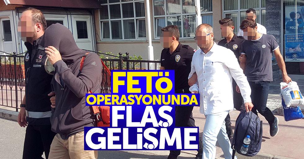 Samsun'da FETÖ operasyonuyla ilgili flaş gelişme
