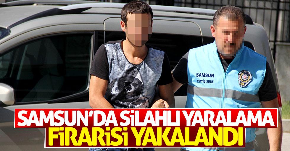 Samsun'da silahlı yaralama firarisi yakalandı