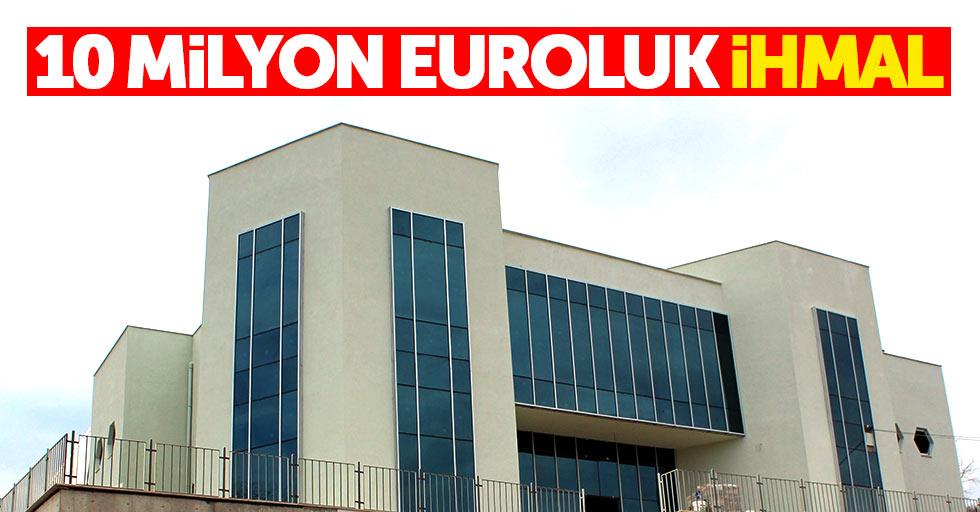 10 Milyon Euroluk bal ihmali
