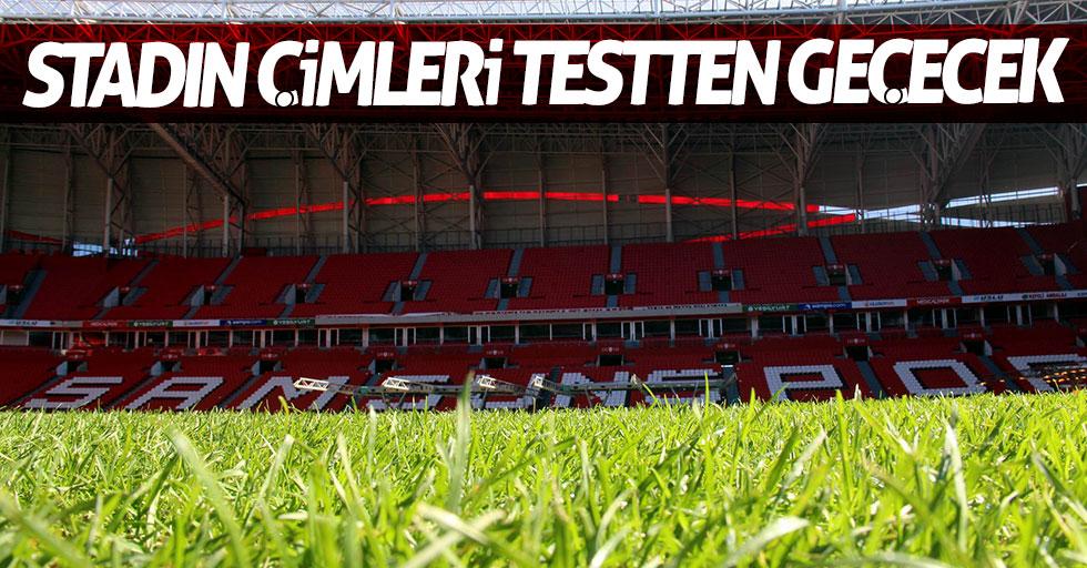 19 Mayıs Stadı'nın çimleri testten geçecek