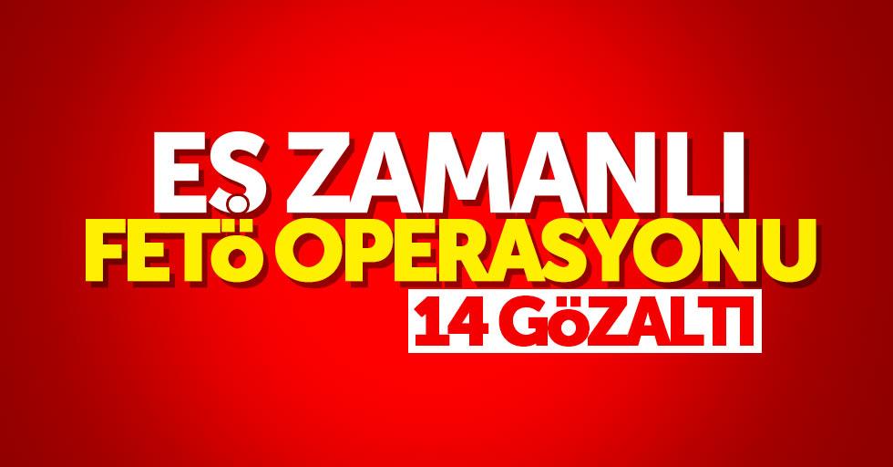 Samsun'da eş zamanlı ByLock operasyonu