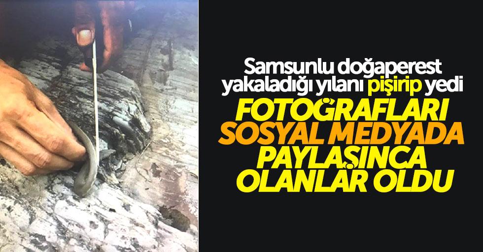 Samsun'da kaçak avlanan doğaperest ceza yedi
