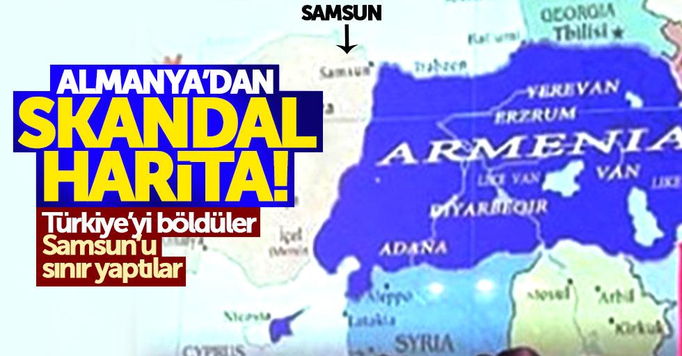 Türkiye'yi böldüler, Samsun'u sınır yaptılar