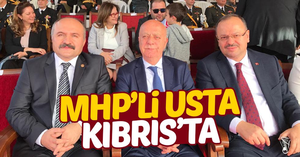 Erhan Usta: Kıbrıs bizim parçamızdır