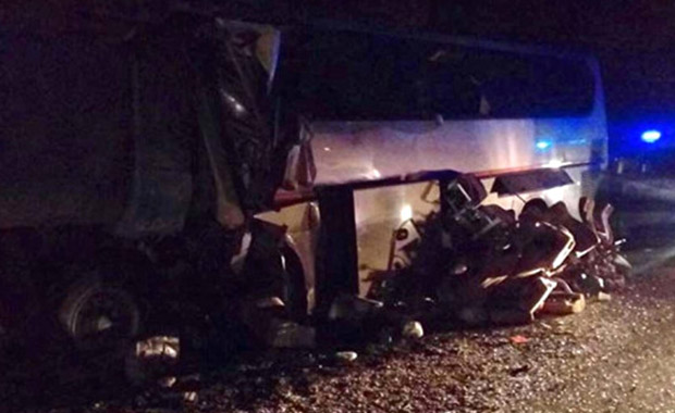 Rusya'da facia gibi kaza: 15 ölü, 5 yaralı
