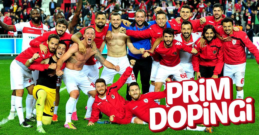 Samsunspor'da futbolculara Boluspor maçı öncesi prim dopingi