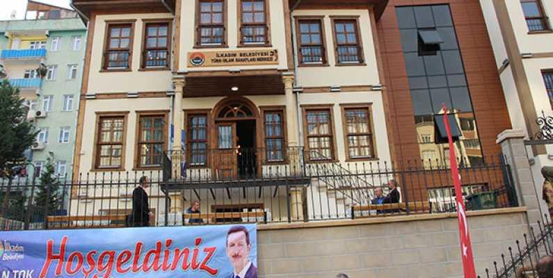 Türk-İslam Sanatları Merkezi İlkadım'da açıldı