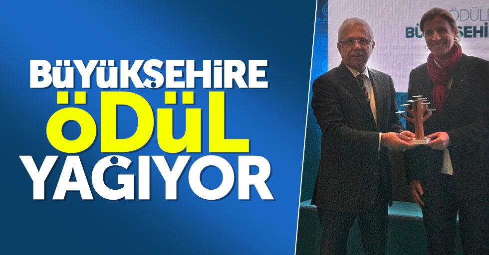 Samsun Büyükşehir Belediyesi'ne ödül yağıyor