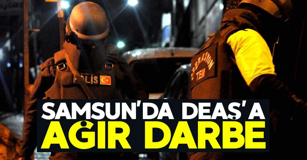 Samsun'da DEAŞ'a darbe: 5 gözaltı