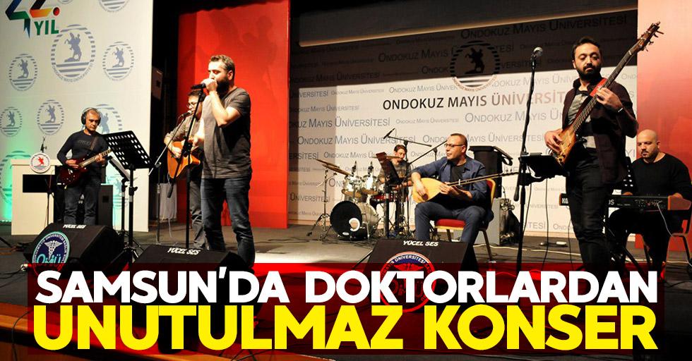 Samsun'da doktorlardan unutulmaz konser