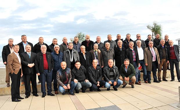 Samsun'da emekli trafik polisleri buluştu