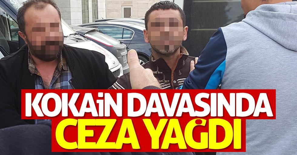 Samsun'da kokain davasında ceza yağdı