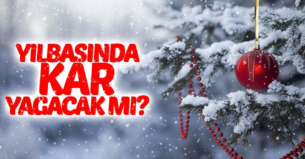 Samsun'da yılbaşında kar yağacak mı?
