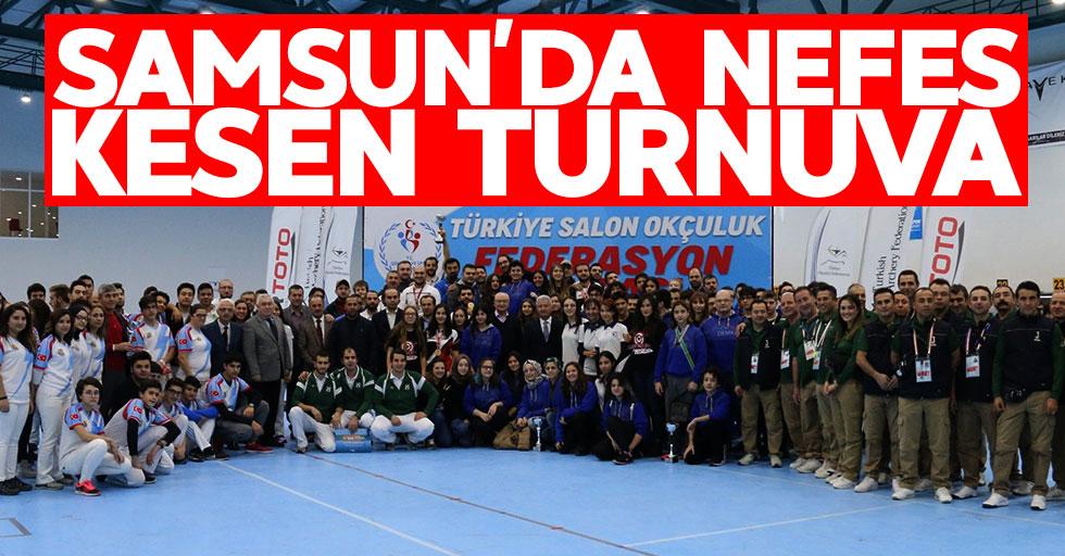 Samsun'daki nefes kesen turnuva sona erdi