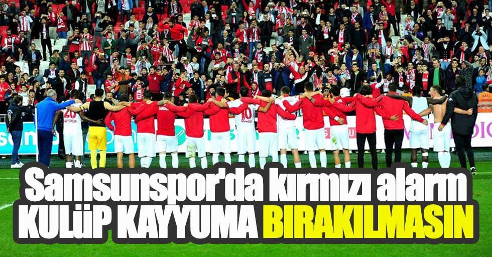 Samsunspor'da kırmızı alarm!